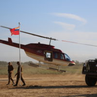 recce helicopter